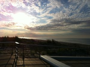 Sunrise at Robert Moses - what a beach!