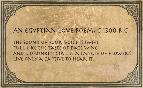egyptian-love-poem