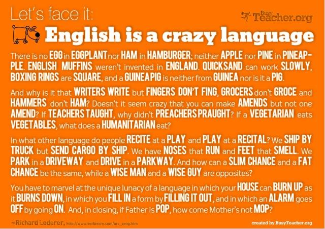 Why the English Language Makes No Sense   Terri Herman-Ponce